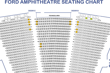 Ford Theatres Seating Chart