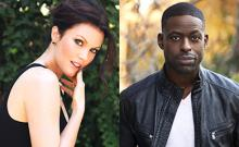Bellamy Young and Sterling K. Brown