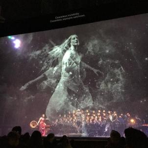 What a ride! We were blown away last night by @nathangunn1, #jessicarivera, and the @laopera orchestra and chorus! Kudos to @bethmorrisonprojects and @nationalsawdust and everyone involved in bringing art, science and opera together on #lasfreshest stage! #HubbleCantata